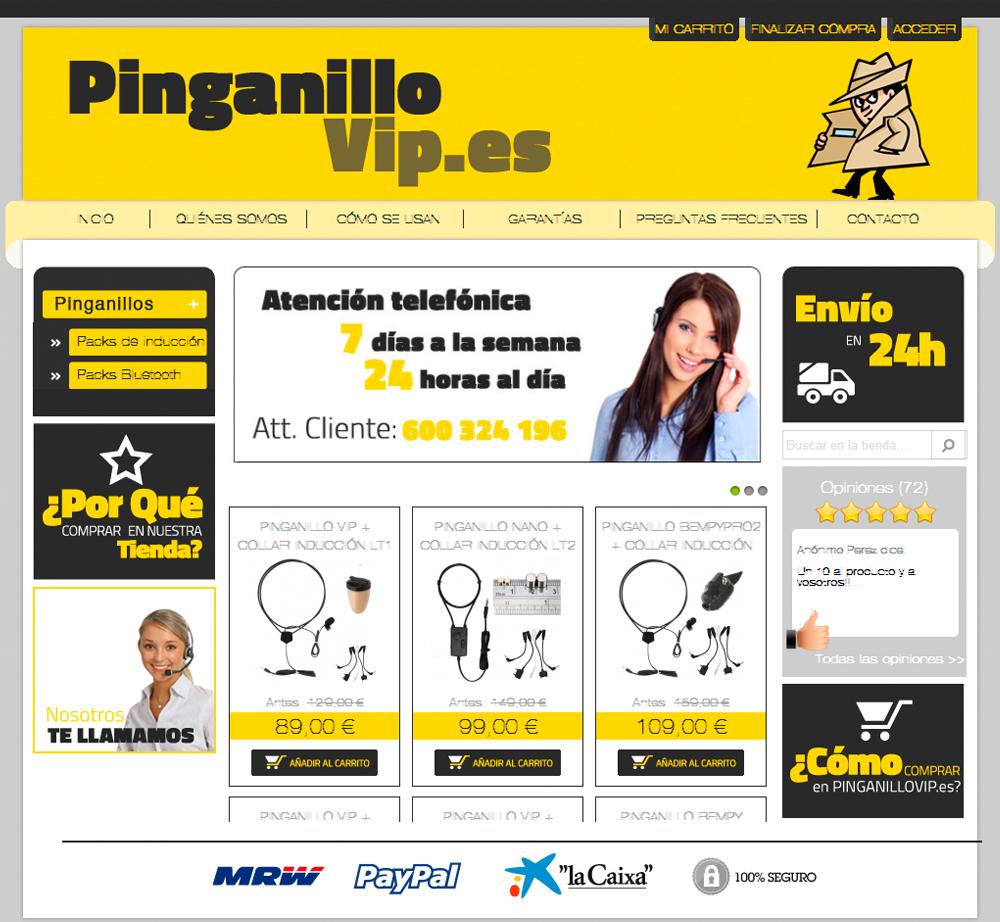 Pinganillovip.es