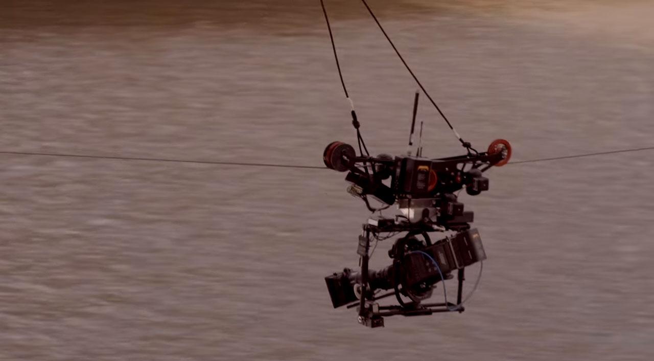 Producción de Vídeo Cablecam