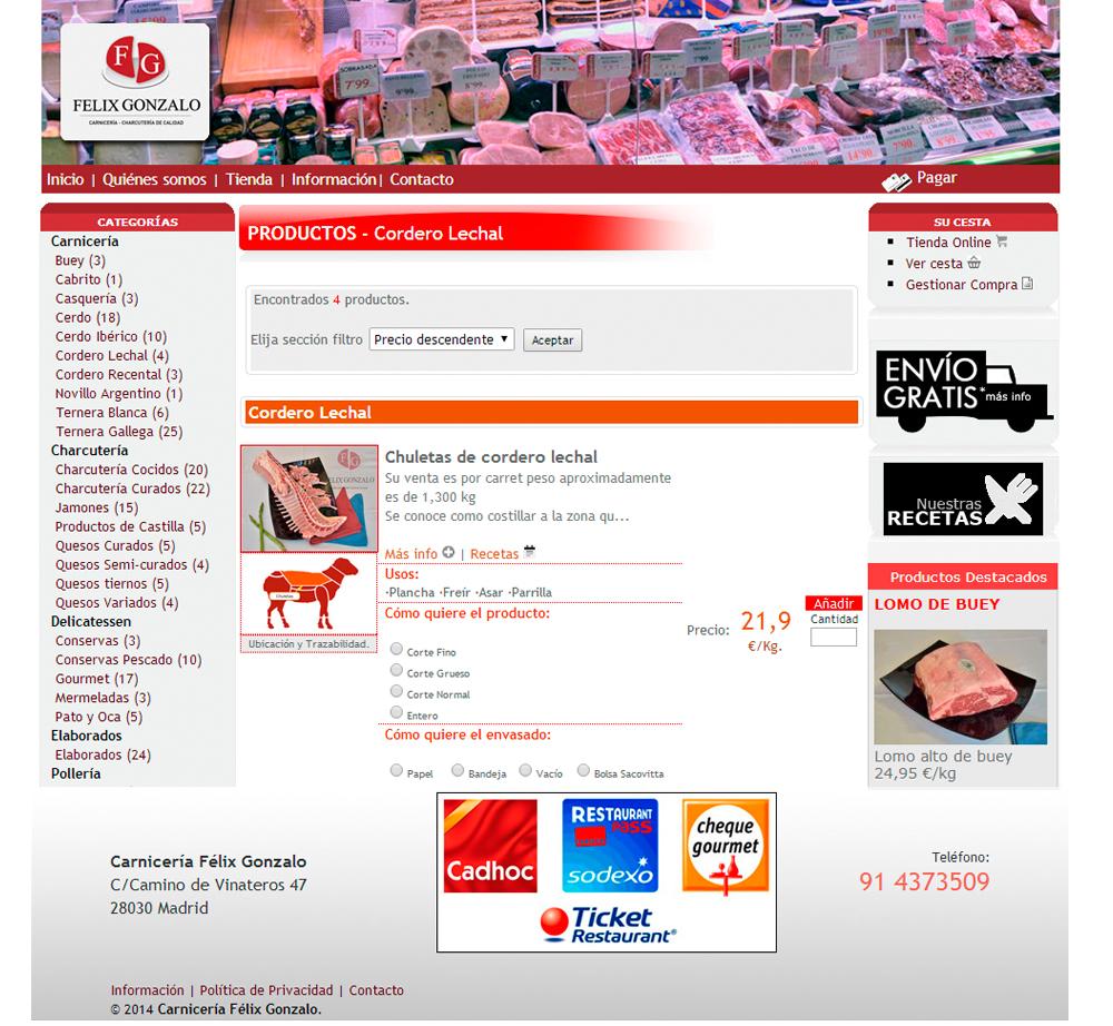 Carniceriafelixgonzalo.com
